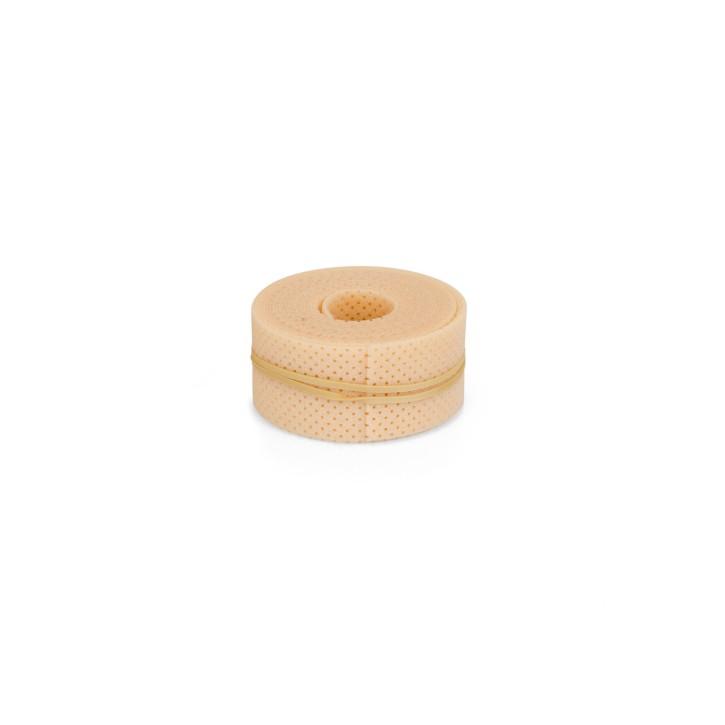 Thermoplastisches Schienenmaterial | Turbocast® Roll | Breite 3,0 cm | micro perforiert | 300 cm lang | beige