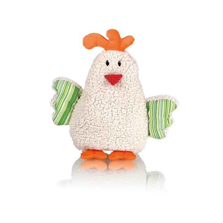 Wärmflasche mit Bezug | Plüschtier Huhn Kiki