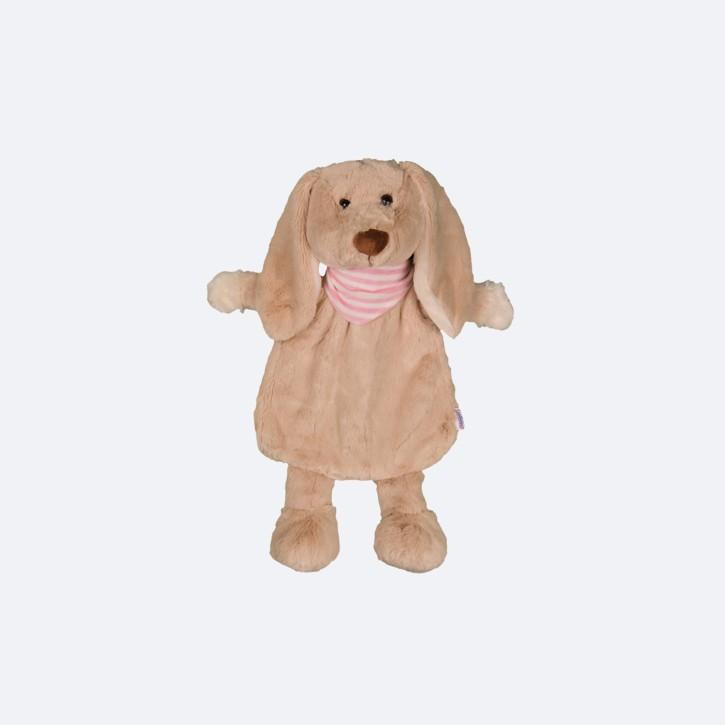 Wärmflasche mit Bezug Kuschel Hund Schlappi