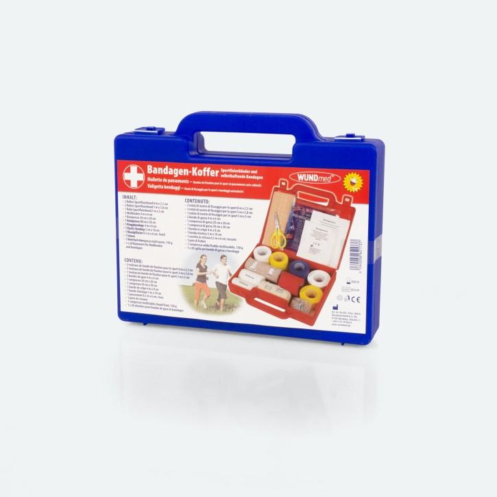 WUNDmed | 17 teiliger Bandagen-Koffer | farblich sortiert MHD erreicht