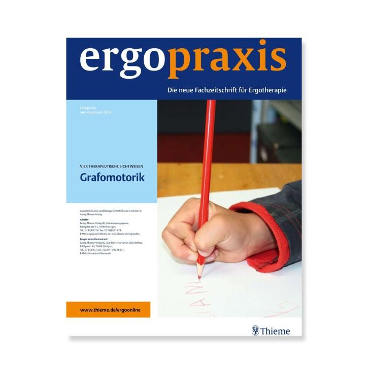 Abonnement Zeitschrift ergopraxis