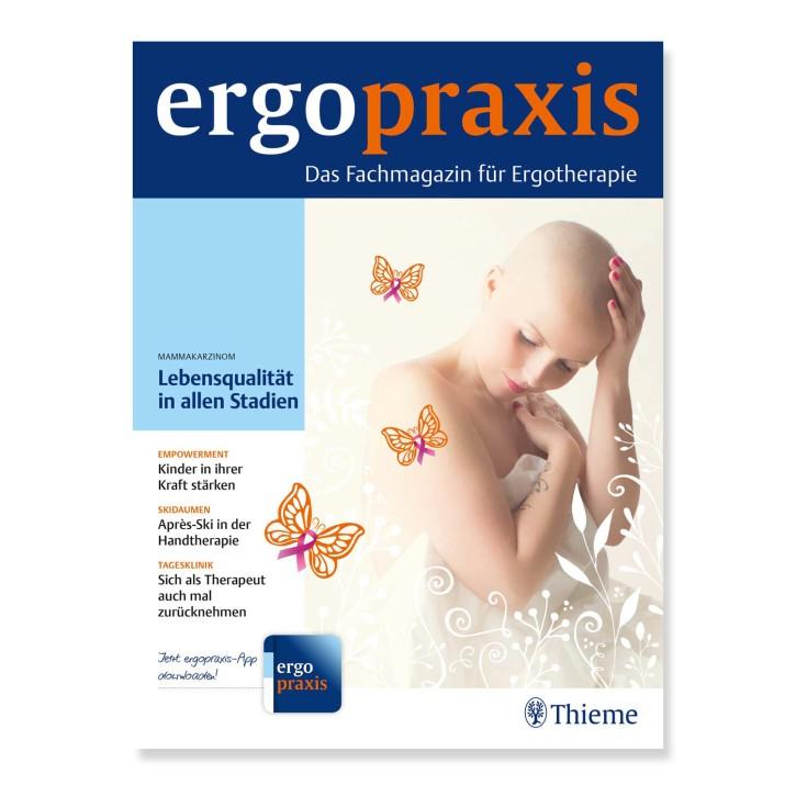 Abonnement Zeitschrift physiopraxis