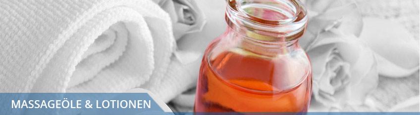 Massageöle, Lotionen und Einreibungen