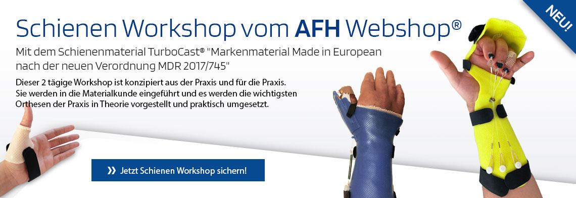 Schinen Kurs Workshop vom AFH Webshop