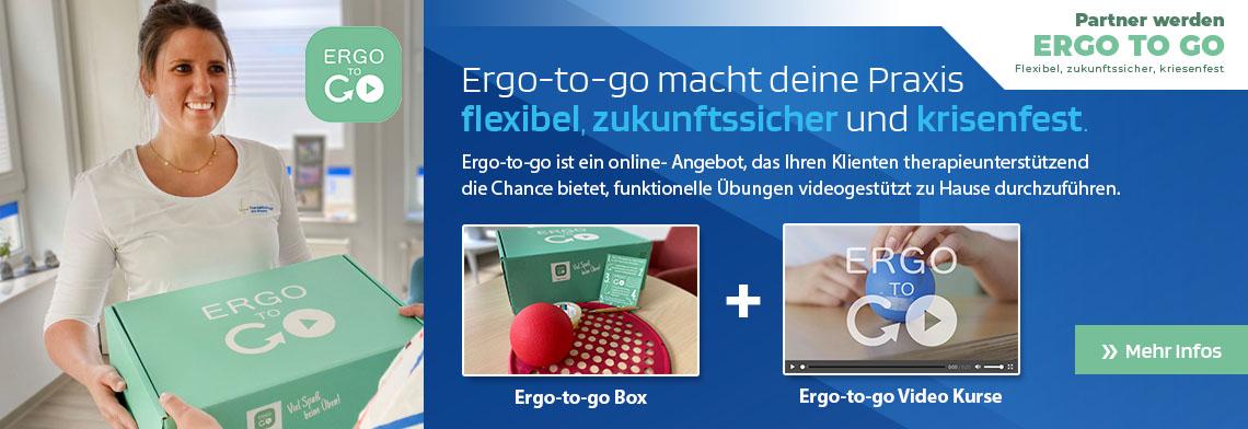 Ergo2go - Die Übungen aus der Praxis für Zuhause