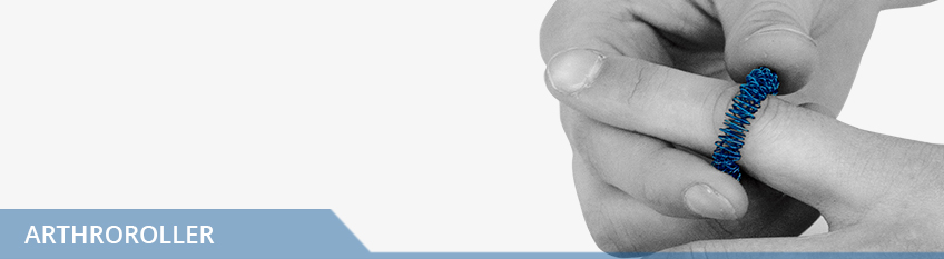 ArthroRoller, Fingermassage