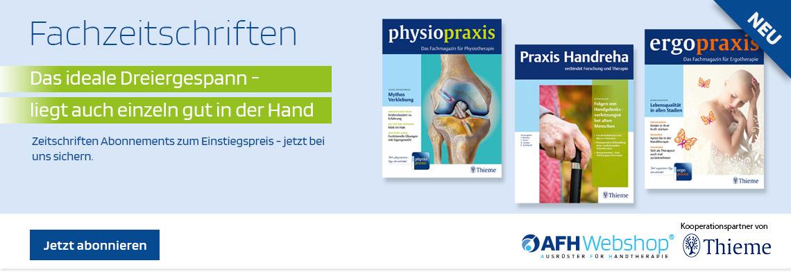 Fachzeitschriften - Kooperationspartner von Thieme Verlag