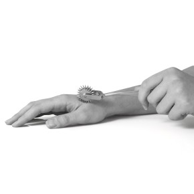 AFH 3er Zackenrad | Sensibilitätstest | Neurotest | Wartenbergrad | Edelstahl | poliert