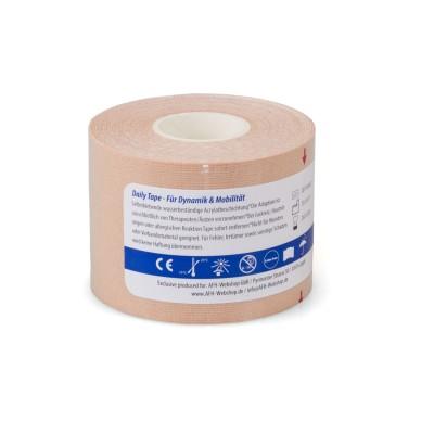 Daily Tape | Kinesiologie Tape 5,0 cm x 5 m | beige