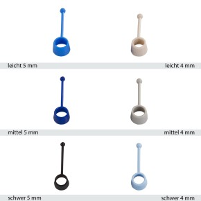 AFH DynoEx-Trainer | Deluxe | Expanderbänder | Small 4 cm | verschiedene Stärken