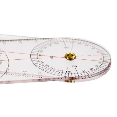 AFH Winkelmesser | Goniometer aus Acryl | Deluxe Line | Typ 2.0