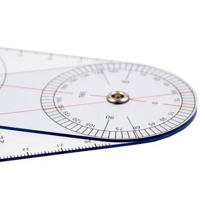 AFH Winkelmesser   Goniometer aus Kunststoff   Typ 2.0