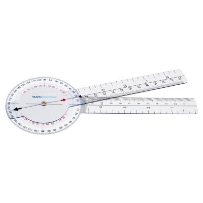 AFH Winkelmesser   Goniometer aus Kunststoff