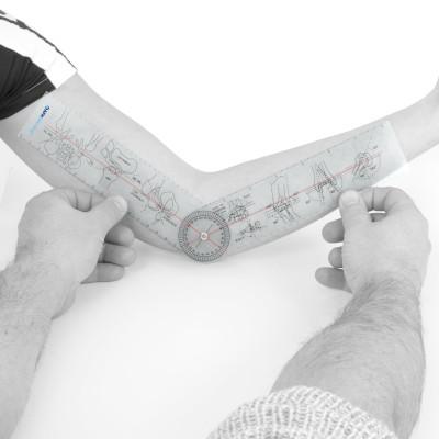 AFH Winkelmesser | Goniometer aus Acryl | Deluxe Line