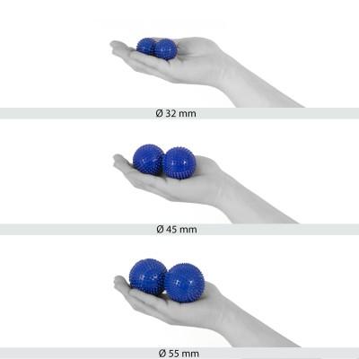 Magnet Akupunktur Massage Kugeln   2 Stück   Ø 32 mm   verschiedene Farben
