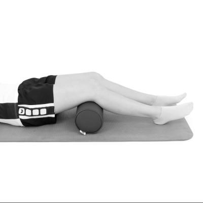 AFH Nacken- und Knierolle | hochwertiger Kunstlederbezug | 50 x 15 cm | verschiedene Farben