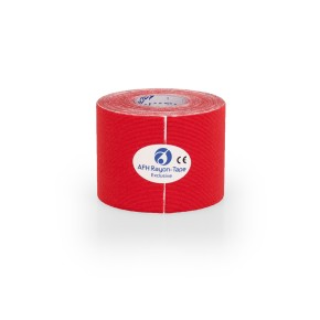 AFH Rayon Tape Exclusive | Kunstseide 5,0 cm x 5 m | rot