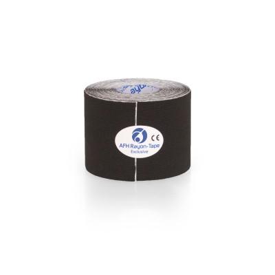 AFH Rayon Tape Exclusive | Kunstseide 5,0 cm x 5 m | schwarz