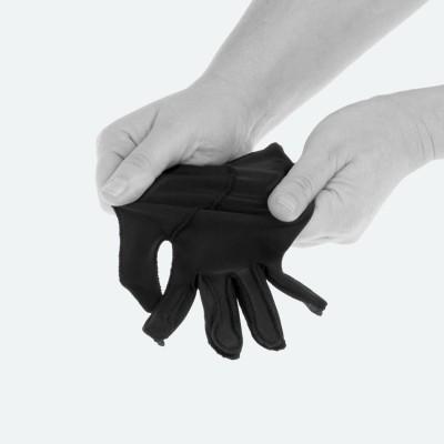 EDEMA Medium   3/4 Finger   Ödem Handschuh   M   schwarz