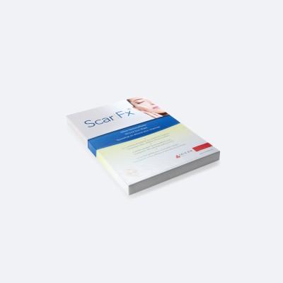 ScarFX Selbsthaftendes Silikon Narbenpflaster Silikonfolie   3,75 x 7,5 cm