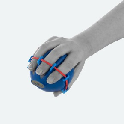 CanDo® Digi-Extend Squeeze® Hand Exercisers | Handtrainer | 5er Set
