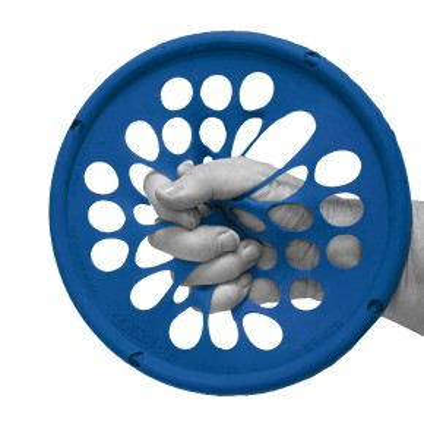 CanDo® Hand Exercise Web | 18 cm | heavy | blau