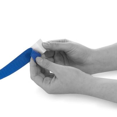 Hakenband | selbstklebend | Breite: 25mm | Länge: 25m | schwarz