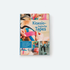 Taping Übungsset | 5 Rollen A-Tape + Buch: Kinesiologische Tapes
