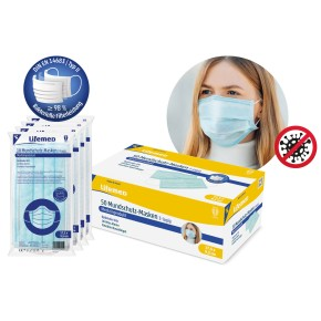 Lifemed Mundschutz Masken 50er Pack