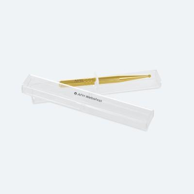 Massagestäbchen | ExclusivLine | vergoldet | mit einer Kugel | mit AFH-Box