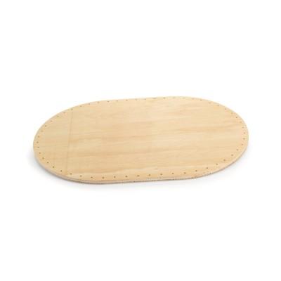 Peddigrohr Boden | gebohrt | Oval