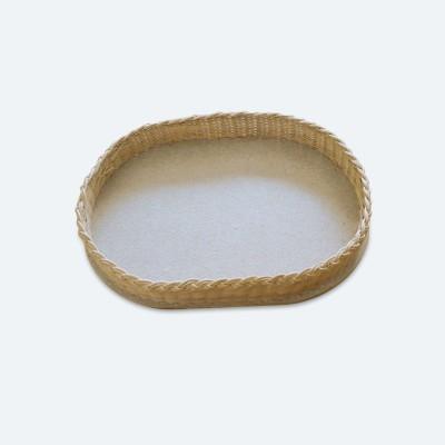 Peddigrohr Boden | gebohrt | Oval | klein