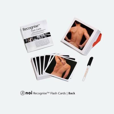 Recognise Flash Cards   Rücken   Bildkarten