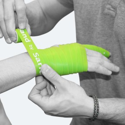 Flossband by Sanctband | schmal | mittel | grün
