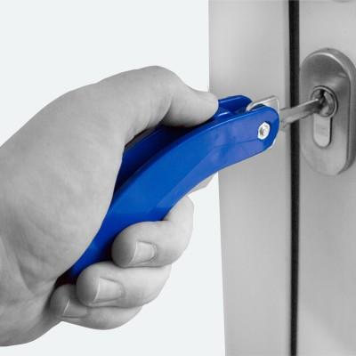 Schlüsselhalter für 2 Schlüssel | Schlüsselhilfe | Türhilfe | Drehhilfe
