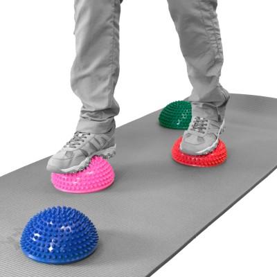 TheraPIE Balance Igel | Gymnastik Igel | Ø 16 cm | Mix 6er Set