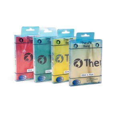 TheraPIE Band   Übungsband   2,0m   Klassik Farben   verschiedene Stärken