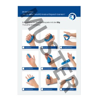 AFH Knetfibel | TheraPIE Knete Trainingsprogramm
